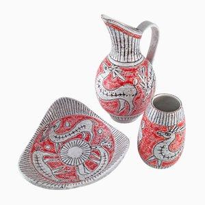 Set di ceramica di Fratelli Fanciullacci, Italia
