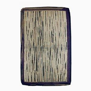Antiker Handgeknüpfter Amerikanischer Teppich, 1900er
