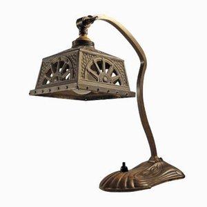 Lámpara de mesa modernista, década de 1900