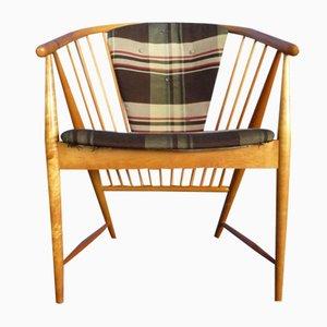 Sun Feather Armlehnstuhl von Sonna Rosen für Nassjo Stolfabrik Sweden, 1948