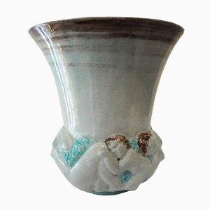 Crépuscule Vase by Edouard Cazaux, 1930s