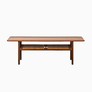 AT-10 Mid-Century Coffee Table by Hans J. Wegner for Andreas Tuck, 1950s