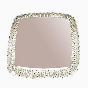 Viereckiger Vintage Spiegel von Emil Stejnar für Rupert Nikoll, 1950er