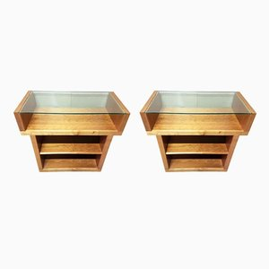 Vintage Display Units, Set of 2