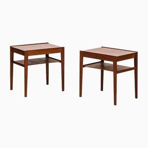 Scandinavian Dixi Bedside Tables by Gunnar Myrstrand & Sven Engström for Tingströms, 1950s