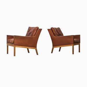 Modell 39 Sessel von Kai Lyngfeldt Larsen für Søren Willadsen, 1960er 2er Set