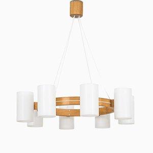 Lámpara de techo de Uno & ÖSten Kristiansson para Luxus, años 60