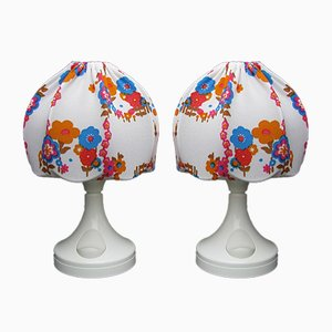 Vintage Night Lamps from Bonalux, Set of 2