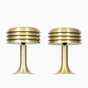 Model BN-26 Table Lamps by Hans-Agne Jakobsson, 1950s, Set of 2