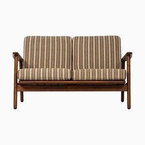 Dänisches GE-233 Mid-Century Sofa von Hans Wegner für Getama, 1950er