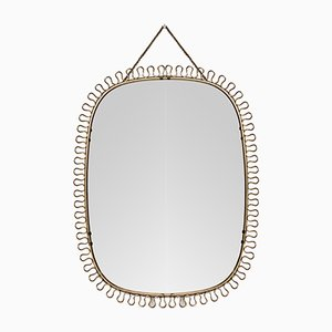 Mid-Century Scandinavian Mirror by Josef Frank for Svenskt Tenn, 1950s