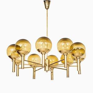 Mid-Century Ceiling Lamp by Sven Mejlstrøm for Mejlstrøm Belysning