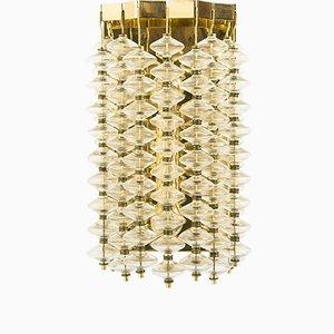 Lámpara de pared Estrella vintage de Hans-Agne Jakobsson, años 60