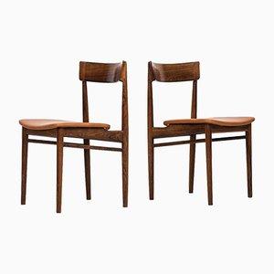 Chaises de Salon Model-39 par Henry Rosengren Hansen pour Brande Møbelfabrik, 1960s, Set de 8