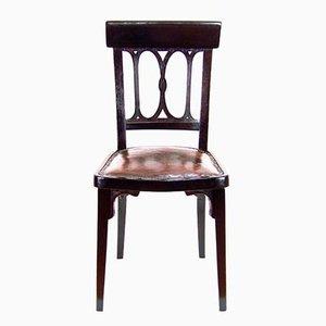 Chaise Nr. 359 Viennoise en Bois Courbé de J & J Kohn, 1900s