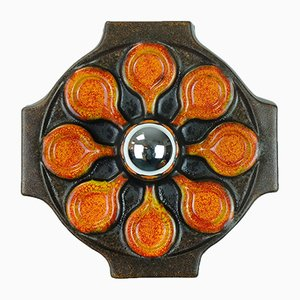 Applique da parete vintage in ceramica