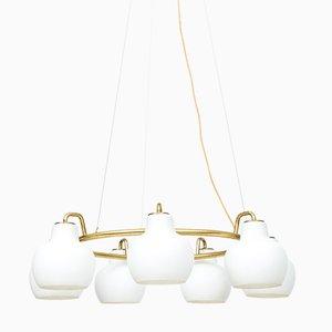 Christiansborg Ceiling Lamp by Vilhelm Lauritzen for Louis Poulsen, 1950s
