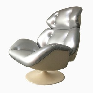 Star Maidens Space Age Swivel Chair from Lurashell, 1971