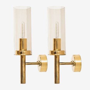 V-169 Sonata Wall Lamps by Hans-Agne Jakobsson, 1960s, Set of 2