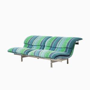 Vintage Onda Sofa von Giovanni Offredi für Saporiti