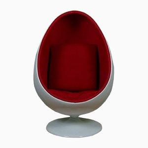 Sedia Egg di Eero Aarnio, anni '70