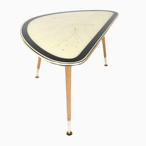 Mid-Century Messing Cocktailtisch von IIse Möbel, 1950er