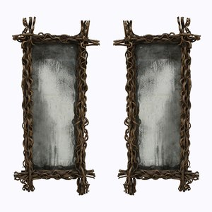 Rectangular Mirrors, 1970s, Set of 2