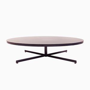 Tavolino da caffè ovale, anni '60