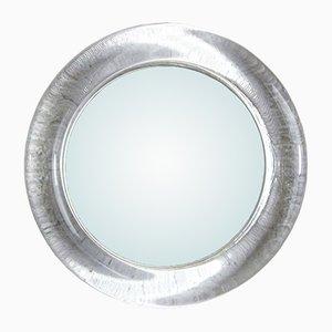 Miroir Vintage Rond avec Cadre en Verre