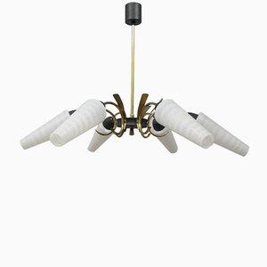 Lámpara de araña francesa, años 50