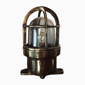 Mid-Century Bronze Tischlampe