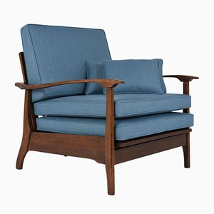 Fauteuil Mid-Century Inclinable, 1960s