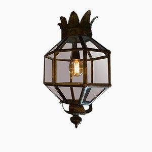 Vintage Italian Brass Lantern