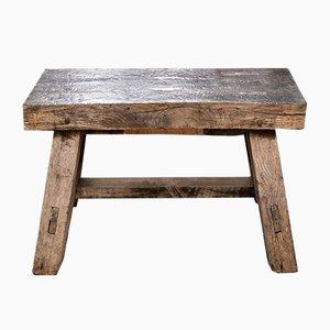 Mesa o banco antiguo