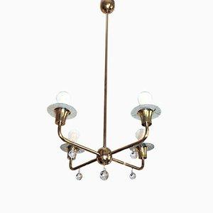 Lámpara de techo Art Déco vintage