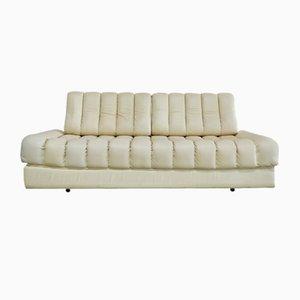 Sofá cama DS-85 vintage de cuero blando de de Sede