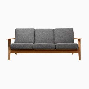Sofá de 3 plazas GE-290 vintage de Hans J. Wegner para Getama