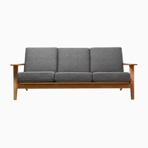 Vintage GE-290 3-Seater Sofa by Hans J. Wegner for Getama