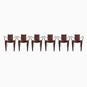 Sedie Luigi 20 di Philippe Starck per Vitra, anni '90, set di 6