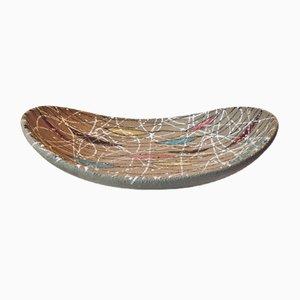 Cuenco italiano moderno de cerámica multicolor de Fratelli Fanciullacci para Bitossi, años 50