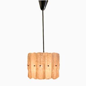 Lámparas colgantes vienesas de metacrilato, años 70