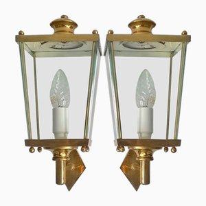 Lámparas de pared de Pietro Chiesa para Fontana Arte, años 50. Juego de 2