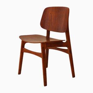 155 Stuhl von Børge Mogensen für Søborg Møbelfabrik, 1950er