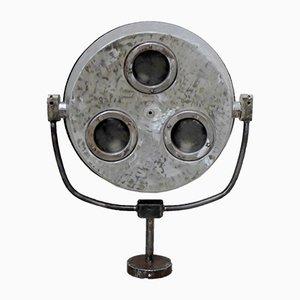 Polierte Vintage Operations-Lampe