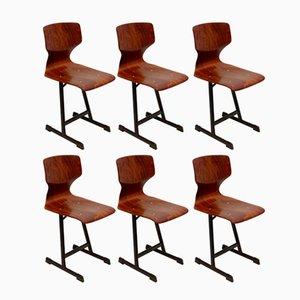 Chaises d'Appoint de Flötotto, 1970s, Set de 6