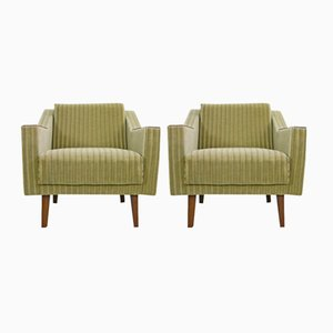 Mid-Century Armchairs, 1950s, Set of 2