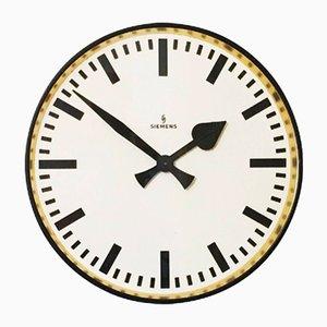 Grande Horloge Murale Industrielle de Siemens, 1950s