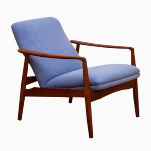 Mid-Century Teak Lounge Chair by Alf Svensson for Søren J. Ladefoged, 1960s