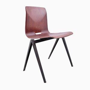Chaise S22 Vintage Rouge de Galvanitas