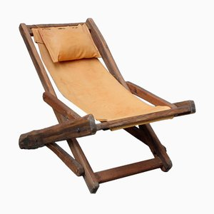 Vintage Beach Lounge Chair